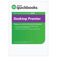 QuickBooks Desktop Premier 2021 1 Users