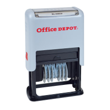 Office Depot Brand Self Inking Numberer