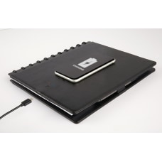 TUL Wireless Charging Discbound Notebook Leather