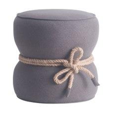 Zuo Modern Tubby Ottoman Gray