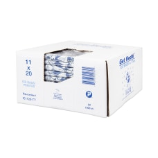 Inteplast LLDPE Ice Bags 09 mil