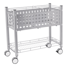 Vertiflex Open Top Rolling File Cart