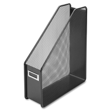 Lorell Mesh Magazine Holder Black