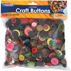 Pacon Craft Button Variety Pack Craft