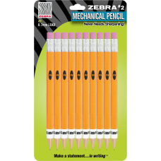 Zebra Push Eraser Mechanical Pencils 2