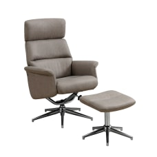 Monarch Specialties Swivel Recliner Chair And