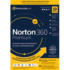 Norton 360 Premium For 10 Devices