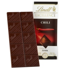 Lindt Excellence Chocolate Chili Chocolate Bars