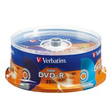 Verbatim Life Series DVD R Discs