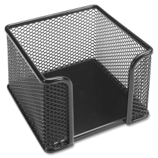 Lorell Mesh Memo Holder Black