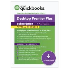 QuickBooks Desktop Premier Plus 2022 with