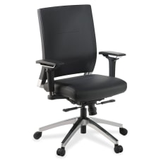 Lorell Executive Bonded Leather Swivel Chair