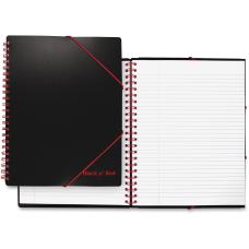 Black n Red Twinwire Filing Notebook