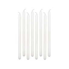 Amscan Birthday Candles 5 White 12