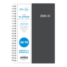 Blue Sky AY21 WeeklyMonthly PP Planner
