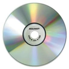 SKILCRAFT Branded Attribute DVD R Media