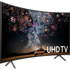 Samsung 7300 UN65RU7300F 645 Curved Screen
