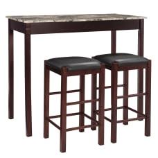Linon Home Tavern 3 Piece Counter