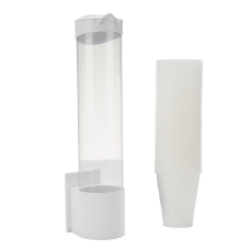 Mind Reader Plastic Cup Dispenser 15
