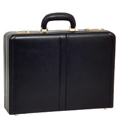 McKleinUSA Harper Leather Attache Case Black