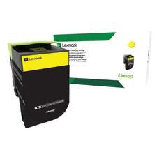 Lexmark 71B10Y0 Return Program Yellow Toner