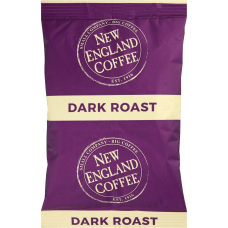 New England French Roast Coffee Portion