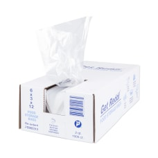 Inteplast Poly Food Bags 068 mil