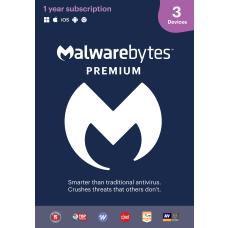 Malwarebytes Premium For 3 Devices 1