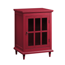 Sauder Barrister Lane Side Table Display
