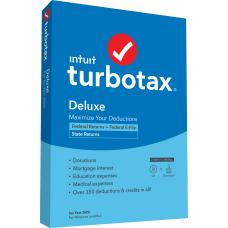 TurboTax Desktop Deluxe Federal E File