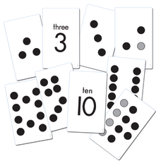 Sensational Math 38 Piece Subitizing Activity
