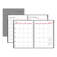 Office Depot Brand Monthly Academic Planner