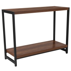 Flash Furniture Console Table With Lower