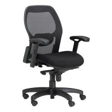 Safco Mesh Chair SilverBlack