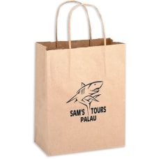 Paper Shopping Bags Brown Kraft