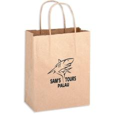 Large Kraft Paper Shopping Bag 13