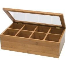 Lipper 8189 Bamboo Tea Box 8