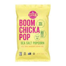 Angies BOOMCHICKAPOP Popcorn Non GMO Gluten