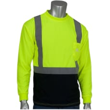 Custom Safety Reflective Long Sleeve T