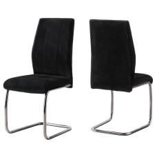 Monarch Specialties Sebastian Dining Chairs Black