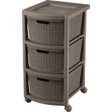 Rimax Rolling Storage Cart 3 Drawer