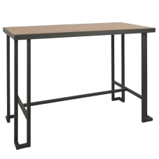 Lumisource Roman Industrial Counter Table Rectangular