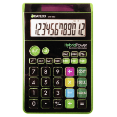 Jumbo Style Calculator Assorted Colors No