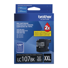 Brother LC107BK High Yield Black Ink