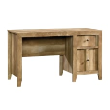 Sauder Dakota Pass Desk Craftsman Oak