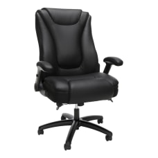 OFM Essentials Ergonomic Bonded Leather Mid