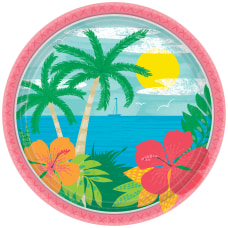 Amscan Summer Vibes Paper Plates 7