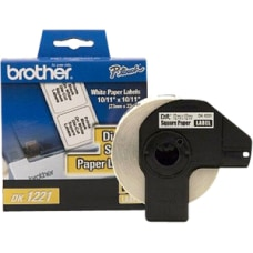 Brother DK1221 Square Paper Labels 2480105