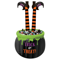 Amscan Halloween Witch Leg Inflatable Cooler