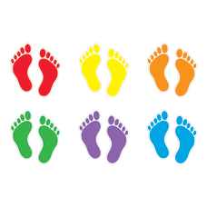Trend Classic Accents Variety Pack Footprints